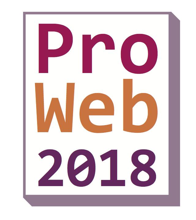 ProWeb 2018 logo