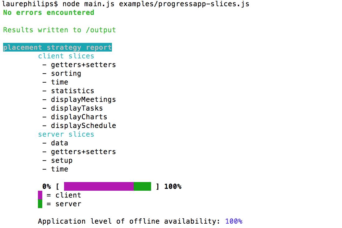 Stip js - tier splitter for JS